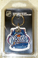 2012 Winter Classic Philadelphia NHL Team Logo Wincraft Acrylic Premium Key Ring