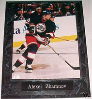 Alexei Zhamnov Winnipeg Jets 10.5x13 Plaque