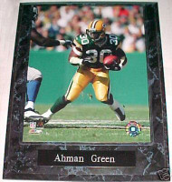 Ahman Green Green Bay Packers 10.5x13 Plaque