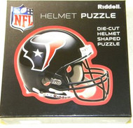 Houston Texans Riddell NFL 16x16 Helmet Puzzle 100 Pieces