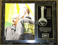 Bryan Cranston & Aaron Paul Breaking Bad 12x15 Wood Plaque