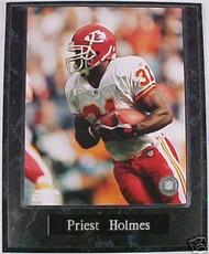 Priest Holmes Kansas City Chiefs 10.5x13 Plaque