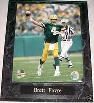Brett Favre Green Bay Packers 10.5x13 Plaque - PLAQUE-0554