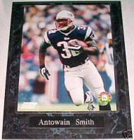 Antowain Smith New England Patriots 10.5x13 Plaque