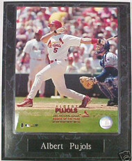 Albert Pujols St. Louis Cardinals 10.5x13 Plaque