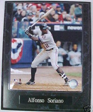 Alfonso Soriano Washington Nationals 10.5x13 Plaque