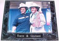 Joe Torre & Rudy Giuliani New York Yankees 10.5x13 Plaque