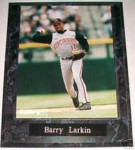 Barry Larkin Cincinnati Reds 10.5x13 Plaque