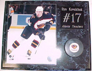 Ilya Kovalchuk Atlanta Thrashers 15x12 Plaque With Puck