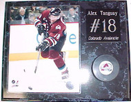 Alex Tanguay Colorado Avalanche 15x12 Plaque With Puck