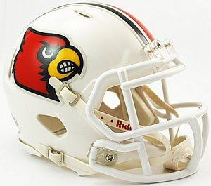 6d77d80b589 Louisville Cardinals Riddell NCAA Replica Revolution SPEED Mini Helmet.   24.99  16.99. (You save  8.00). Image 1