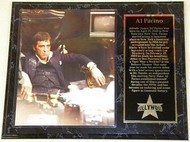 Al Pacino Scarface 15 x 12 Movie Plaque - alpacinopl2