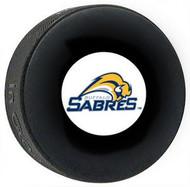 Buffalo Sabres NHL Team Logo Autograph Model Throwback Hockey Puck 2010