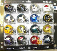 NFC Conference 16-Pack NFL Revolution Pocket Pro Set Bears, Falcons, Cowboys, Cardinals, Lions, Panthers, Giants, Rams, Packers, Saints, Eagles, 49ers, Vikings, Buccaneers, Redskins & Seahawks