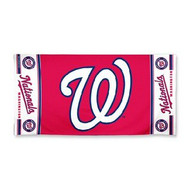 "Washington Nationals WinCraft McArthur 30""x60"" Fiber Beach Towel"