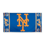 "New York Mets WinCraft McArthur 30""x60"" Fiber Beach Towel"