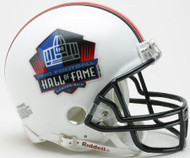 Hall Of Fame Professional Football Riddell Mini Helmet