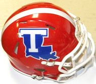 Louisiana Tech Bulldogs Riddell NCAA Replica Revolution SPEED Mini Helmet
