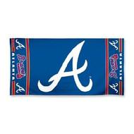 "Atlanta Braves WinCraft McArthur 30""x60"" Fiber Beach Towel"