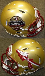 Florida State Seminoles 2013 National Champions Riddell NCAA Authentic Revolution SPEED Pro Line Full Size Helmet