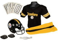 Pittsburgh Steelers Franklin Deluxe Youth / Kids Football Uniform Set - Size Small