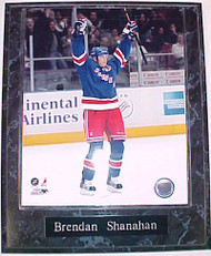 Brendan Shanahan New York Rangers 10.5x13 Plaque