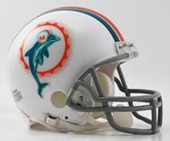 Miami Dolphins 1972 Z2B Riddell NFL Replica Throwback Mini Helmet