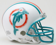 Miami Dolphins 1980-1996 Riddell NFL Replica Throwback Mini Helmet