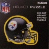 "Pittsburgh Steelers Riddell NFL 16""x16"" Helmet Puzzle 100 Pieces"