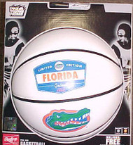 Florida Gators Fotoball Sports Signature Rawlings NCAA Full Size Basketball