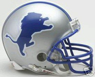 Detroit Lions 1983-2002 Riddell NFL Replica Throwback Mini Helmet