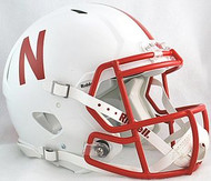 Nebraska Cornhuskers Riddell NCAA Authentic Revolution SPEED Pro Line Full Size Helmet