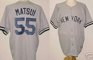 Hideki Matsui New York Yankees Majestic Road Custom XL Jersey