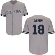 Johnny Damon New York Yankees Majestic Road Custom XL Jersey