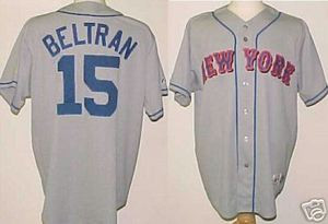 Carlos Beltran New York Mets Majestic Road Custom Xl Jersey