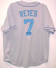 Jose Reyes New York Mets Majestic Road Custom XL Jersey