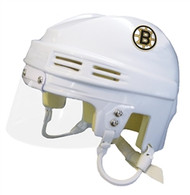 Boston Bruins NHL White Player Mini Hockey Helmet