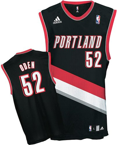 Greg Oden Portland Trailblazers  52 Adidas XL Jersey - GT Wholesale 0f4b2c7cf