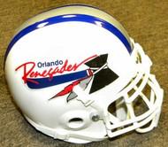 Orlando Renegades USFL United States Football League Authentic Mini Helmet