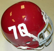 Remember the Titans #70 T C Williams High School 2000 Football Movie Authentic Mini Helmet