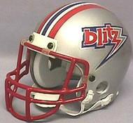 Chicago Blitz USFL United States Football League Authentic Mini Helmet