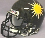 Denver Gold 1985 Yellow Logo USFL United States Football League Authentic Mini Helmet