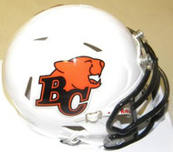 British Columbia Lions Riddell CFL Replica Revolution SPEED Mini Helmet