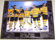 Boston Bruins 2010 NHL Winter Classic 10.5x13 Plaque