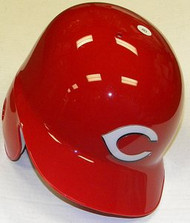 Cincinnati Reds Rawlings Full Size Authentic Left Handed Batting Helmet - Right Flap Regular