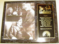 Al Pacino & Marlon Brando The Godfather 15 x 12 Movie Plaque