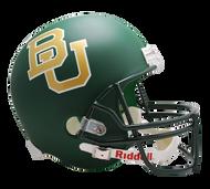 Baylor Bears Matte Green Deluxe Replica NCAA Collegiate Helmet