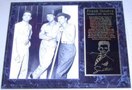 Frank Sinatra Legendary Singer & Actor 15x12 Movie Plaque