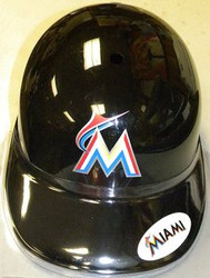 Miami Marlins Rawlings Souvenir Full Size MLB Baseball Batting Helmet