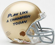 Notre Dame Fighting Irish Riddell NCAA Replica Play Like A Champion Today Mini Helmet